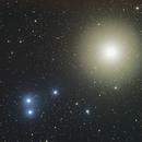 505 Cava asteroid flying toward Aldebaran,                                joegalaxy