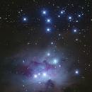 The Airwalk Nebula SH2-279 (aka Running Man),                                HR_Maurer