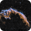 NGC6992 in SHO first version,                                Georges