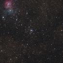M21/Trifid nebula in Sagittarius,                                Sigga