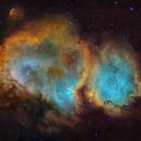 IC1848 -Soul nebula - mosaic V2,                                Arnaud Peel