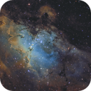 M16 Eagle Nebula SHO,                    Masahiro Takahashi