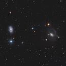 NGC 4151 (The Eye of Sauron) / NGC 4145,                                Chris Sullivan