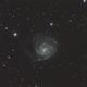Messier 101,                                Wolfgang Zimmermann