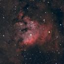 NGC 7822 (HaOIIIRGB),                                John Renaud