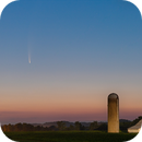 Comet Neowise and Farm,                                Jeff Ball