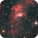 Bubble Nebula NGC7635 in Cassiopeia,                                Marco