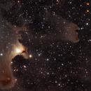 Ghost Nebula region (Progress in processing 2019-2020),                                Bogdan Jarzyna