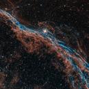 Western Veil Nebula Closeup,                                Alex Roberts