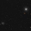 Messier 53 & NGC 5053,                                Fabian Rodriguez Frustaglia
