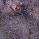 1h de grand champ dans le Cygne le 25 octobre 2017 au 50mm (wide field of Cygnus),                                Laurent3112