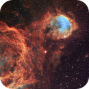 NGC 3324 - Gabriela Mistral Nebula in Hubble colours - Revisited,                                Ariel Cappelletti