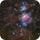 Orion Nebula and Surrounding Dust,                                Toshiya Arai