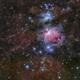 Orion Nebula and Surrounding Dust,                                  Toshiya Arai