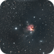 NGC1579 - the Northern Trifid Nebula,                                Seymore Stars