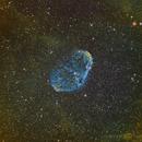 NGC 6888 Crescent Nebula - Hubble Palette,                                SmackAstro