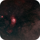 Lagoon Nebula (sort of) wide field with Unmodified Nikon D5600,                                  Dadi Zhou