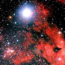 IC 1318 detail near Sadr and NGC 6910,                                Lawrence E. Hazel