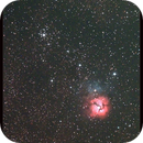 Messier 20 and 21,                    Lawrence E. Hazel