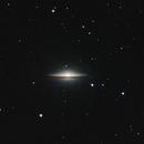 M104 - The Sombrero Galaxy (Full Frame),                                Trevor Nicholls