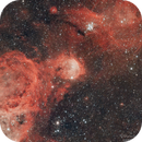 Gabriela Mistral nebula (NGC 3324),                                Sebastian Marchi