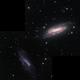 NGC 672 and IC 1727 (2 panels), Ruben Barbosa