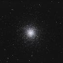 M13 - the Great Globular Cluster in Hercules,                                Muhammad Ali