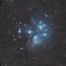 M45 - Seven Sisters,                                Christophe Perroud