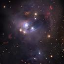 NGC 7129 - HaRGB - Liverpool Telescope,                                Daniel Nobre