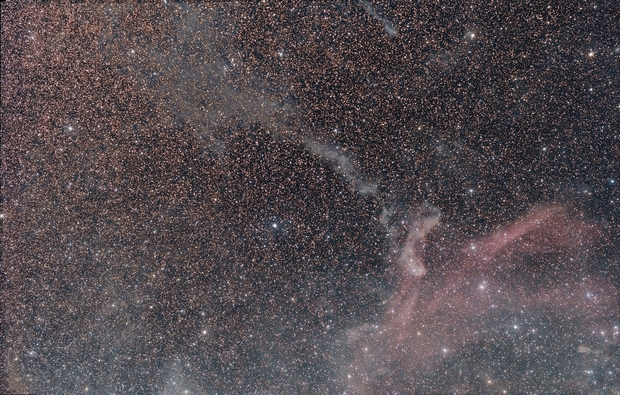 Lacerta Constellation: LBN, IREC, and Sharpless  Catalog Objects,                                Wes Schwarz