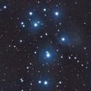 M45 - The Pleiades,                                Shishir Iyer