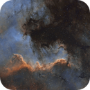 A (short) animated journey to the Great Wall in the North America Nebula (NGC7000),                                Sven Hoffmann