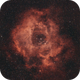 Rosette Nebula - through the clouds,                                urmymuse