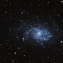 M33 Galaxie du Triangle,                                Sébastien MARTIN