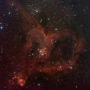Heart Nebula (bad data),                                Tyler Jackson Welch