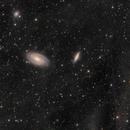 Messier 81 & 82 with integrated flux nebula,                                Boris Štromar