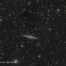 NGC891,                                José Fco. del Agu...