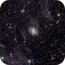 NGC6951 in Cassiopea - Zoom in,                                Arnaud Peel