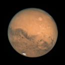 Mars Opposition - Olympus Mons, October 13, 2020,                                Yakov Grus
