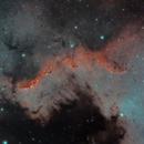 Ngc 7000 - The Cygnus wall,                                Giuseppe Bertaglia