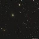 Galaxies in Virgo (Markarian's Chain),                                phoenixfabricio07