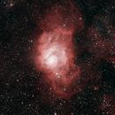 M8 Lagoon and Trifid Nebula,                                Nishant Patil