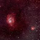 Lagoon and Trifid Nebula,                                seongchuanng@gmai...