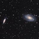 Bodes Galaxies M81 - M82,                                Valentin Thélier