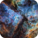 Fly to the Carina Nebula,                                Fluorine Zhu