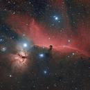 FlameNebula & Barnard 33,                                Robert Ion