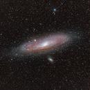 M31 Andromeda Galaxy (200mm),                                star-watcher.ch