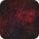Sh2-115 and rich star field mosaic,                                Barry Wilson