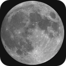 GIF of ISS and Super Blue Moon,                    Dan Goelling