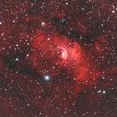 Bubble Nebula,                                Nathan Duso
